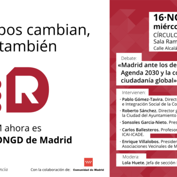 DEBATE: MADRID Y LA AGENDA 2030